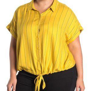 🆕️SANCTUARY Borrego Tie Bottom Plus Size Shirt🆕️